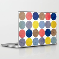 Round and Round Laptop & iPad Skin by Miss L In Art