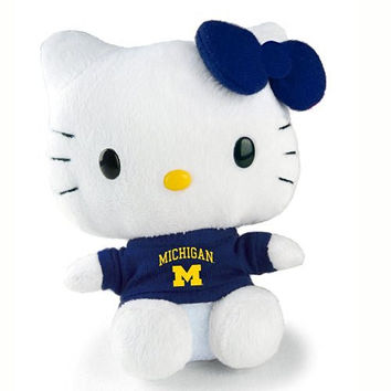 University of Michigan Wolverines Hello Kitty