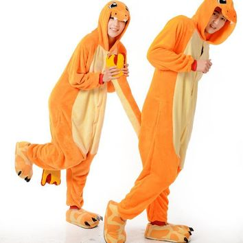 Winter Cartoons Animal Lovely Men Couple Sleepwear [6819621959]