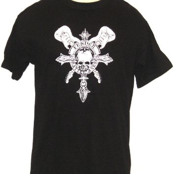 Fender Guitar T-shirt - Fender Battle Axes. Men's Black Shirt