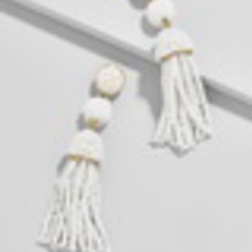 Mini Granita Tassel Earrings