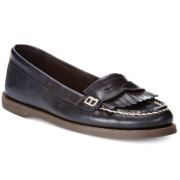 Sperry Top Siders,Avery Penny, stride black size 6 US
