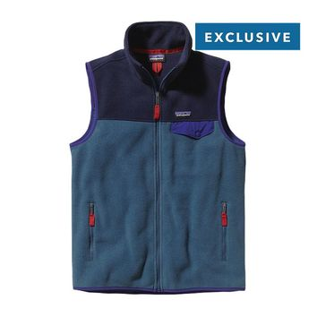 Patagonia Men's Lightweight Synchilla® Snap-T® Vest | Glass Blue