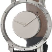"""Akribos XXIV Men's AK412SS """"Spacely"""" Stainless Steel Floating Watch"""