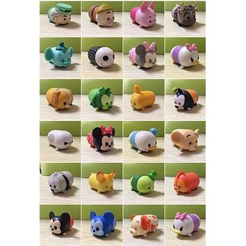 CUTE TSUM Collection figure Mickey Minnie Daisy Goofy Pluto Dwarf Hook alpha 2 inch 1pcs