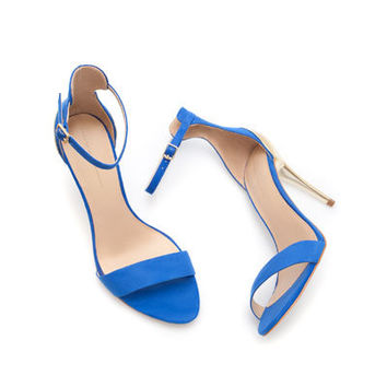 COMBINED SANDAL WITH STILETTO HEEL - Shoes - Woman - New collection | ZARA United States