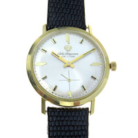 Jules Jurgensen 14k Gold Classic Men's Vintage Watch