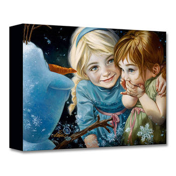 Frozen Never Let it Go Limited-Edition Wrapped Canvas