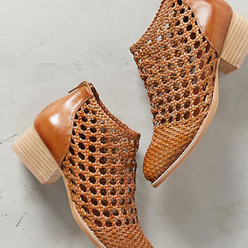 Jeffrey Campbell Basket Weave Booties