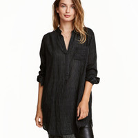 H&M Cotton V-neck Tunic $29.99