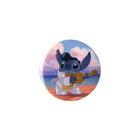 "Disney Lilo And Stitch Rockin' Stitch 3"" Pin"