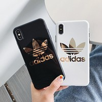 "Luxury ""Adidas"" Case for iPhone 7 7 Plus XR XS MAX"