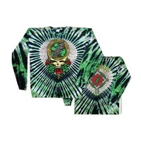 Grateful Dead - Celtic Shamrock Tie Dye T Shirt on Sale for $31.95 at HippieShop.com