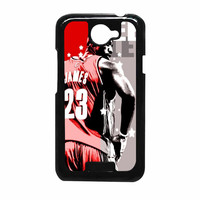 Cleveland Cavaliers James HTC ONE X Case