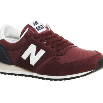 New Balance 420 Maroon Navy Vi - Unisex Sports
