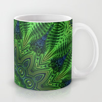 Green and Serene Mug by Lyle Hatch | Society6