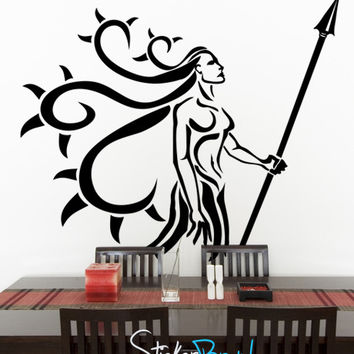 Vinyl Wall Decal Sticker SunChild Indian Chief #GFoster116