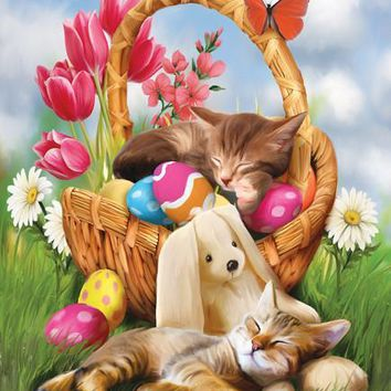 Hard Day with the Easter Bunny 300pc Jigsaw Puzzle