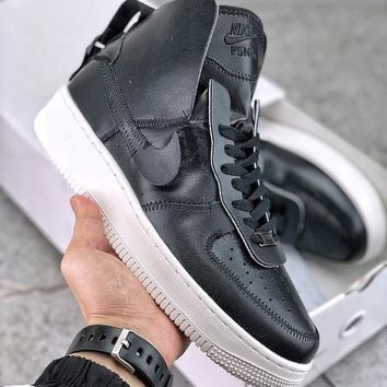 PSNY x Nike Air Force 1 High Pack Black/Sail-Black - Best Deal Online