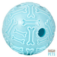 Martha Stewart Pets® Treat Dispensing Ball Dog Toy