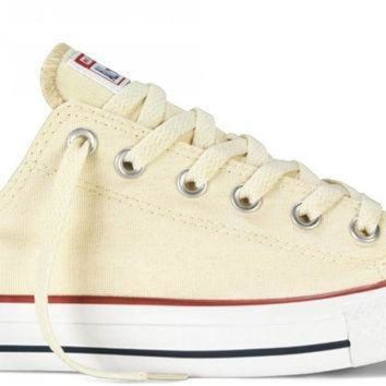 ONETOW converse chuck taylor all star low top unbleached white