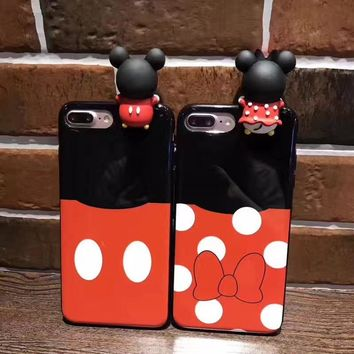 3D Cute Cartoon  Phone Cases for iPhone 6 6s Plus 7 7Plus