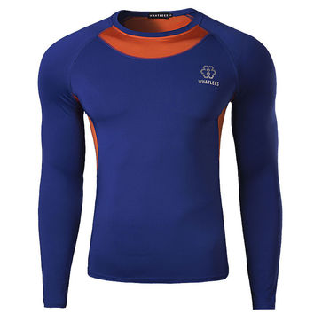 Gym Long Sleeve Tops Quick Dry T-shirts [6572731847]