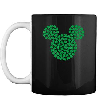 Disney Mickey Mouse Green Clovers St. Patrick's Day  Mug