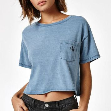 ONETOW Calvin Klein Iconic Sport Pocket T-Shirt at PacSun.com