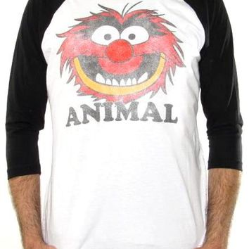 Muppets Baseball Jersey Shirt - Animal