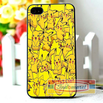 Pikachu- iPhone 4/4s, iPhone 5/5s/5c, Samsung Galaxy S3/S4/S5 Case by INDOMARET
