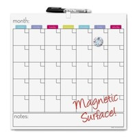 The Board Dudes Magnetic Dry-erase Cubicle Calendar - Walmart.com