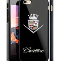 Luxury Cadillac Crown Automive iPhone 6s 7 8 X Plus Print On Hard Plastic Case