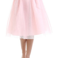 Blush Tulle Ballerina Skirt