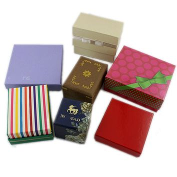 Special offer jewelry box necklace jewelry box accessories hard carton gift box gift box storage box hot LL