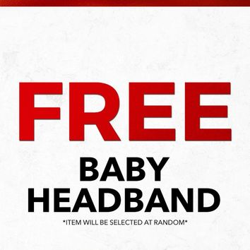 Christmas 2018 Free Baby Headband Gift With Purchase