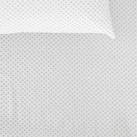 Assembly Home Circle Dot Fitted Sheet- Black & White