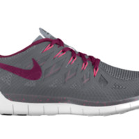 Nike Free 5.0 iD Custom Men's Running Shoes - Pink