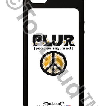 PLUR Daisies iPhone 5C Grip Case