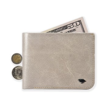 02 Hide & Carry Wallet _ Steel