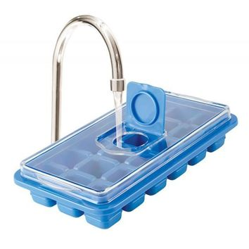 Set of 2 No Spill Ice Cube Trays