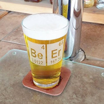Beer Periodic Table Funny Beer Glass, Craft Beer Gift, Etched Pint Glass, Guy Gift, Christmas Gift, Gift for Him, Periodic Table Beer