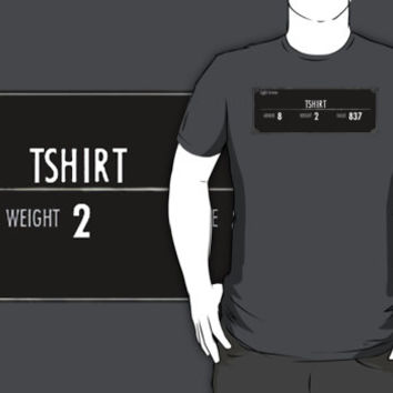 Tshirt Skyrim Stats iPhone & iPod Cases