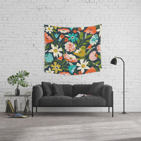 Nightshade Wall Tapestry by Heather Dutton