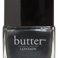 Metallic Charcoal Grey Nail Polish – Chimney Sweep : butter LONDON