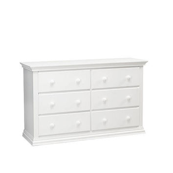Essential Greenwich Double Dresser - White