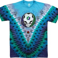 Grateful Dead Soccer SYF Tie Dye Short Sleeve Shirt Size XL