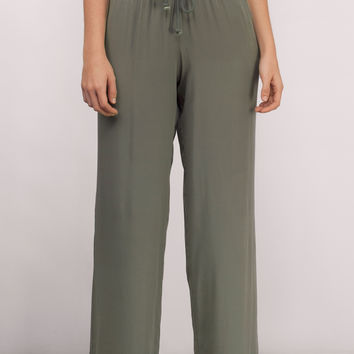 Lounge Around Drawstring Pants