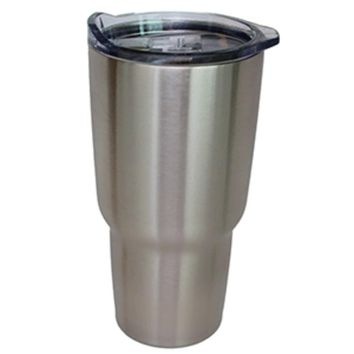 NorChill 20oz Stainless Steel Tumbler w-Clear Lid
