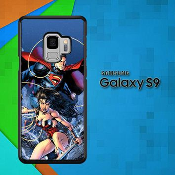Superman & Wonder Woman Appreciation X0930 Samsung Galaxy S9 Case